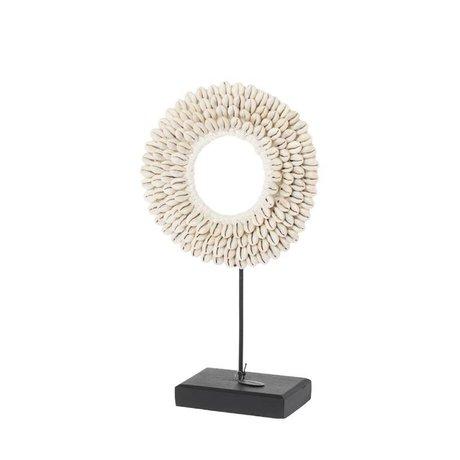 Riverdale Coquille de coquillage beige 20cm