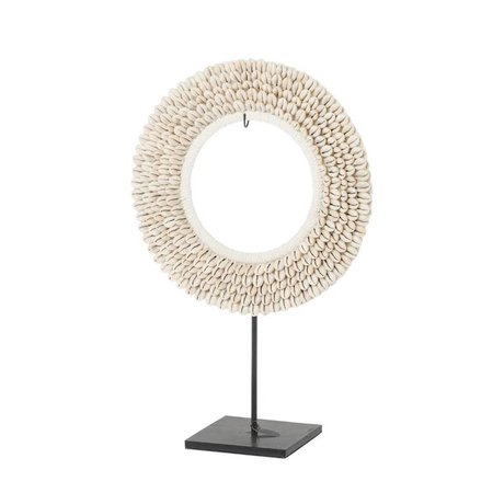 Riverdale Coquille de coquillage beige 30cm