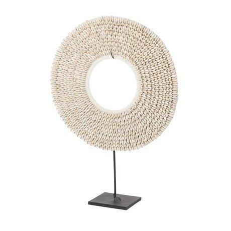 Riverdale Coquille de coquillage beige 40cm