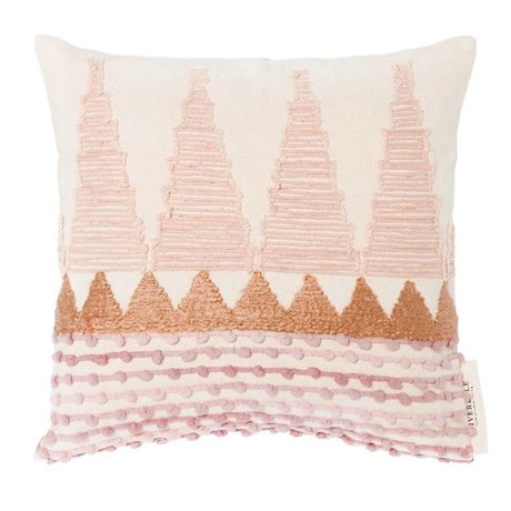 Riverdale Cushion Lily multicolour cotton 45x45cm