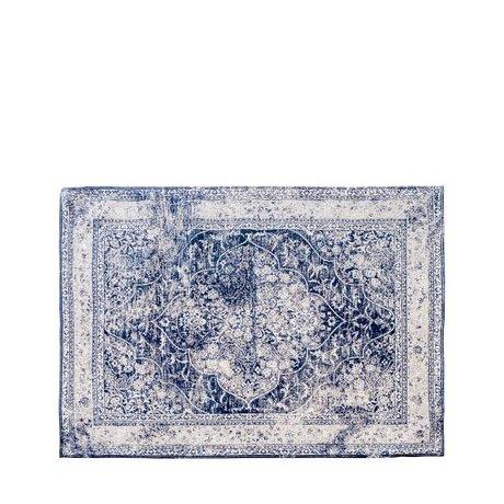 Riverdale Teppich Rufus blau Textil 160x230cm