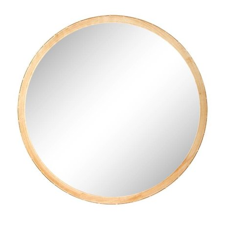 Riverdale Spiegel Elano rundes Goldmetall ø49cm