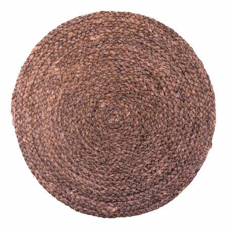 Housedoctor Platzdeckchen Kreis natürliche 38cm