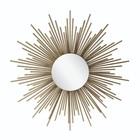 Riverdale Mirror Amaro sun gold metal 4,5x81x81cm