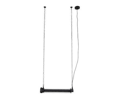 Zuiver hängelampe prim l schwarz metall 70x13,5x200cm