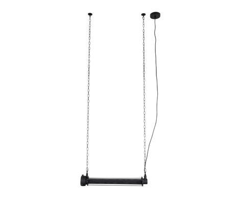 Zuiver hanging lamp prime l black metal 70x13,5x200cm