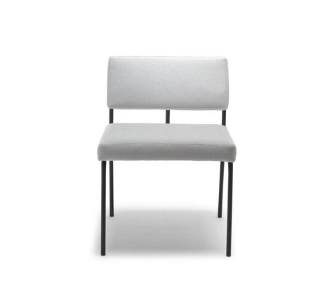 FÉST Dining chair Monday light gray Board Zinc 167 textile 50x55x78cm