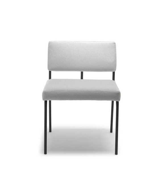 Excellent Fest Dining Chair Monday Light Gray Board Zinc 167 Textile 50X55X78Cm Bralicious Painted Fabric Chair Ideas Braliciousco