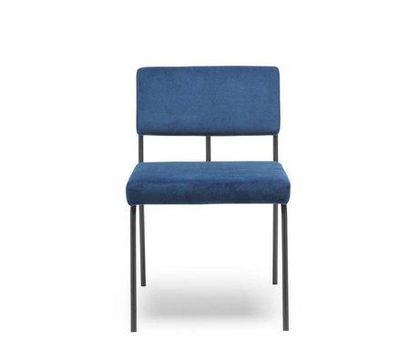 FÉST Chaise de repas Monday blue Seven 49 Navy textile 50x55x78cm