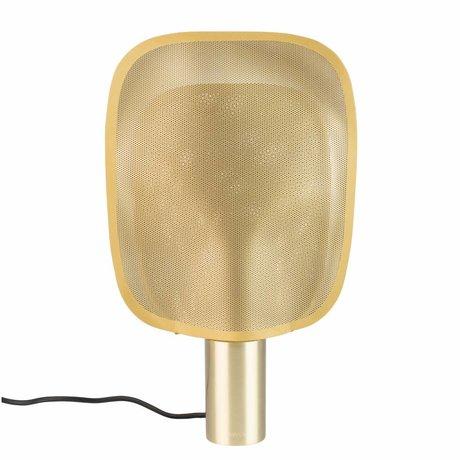 Zuiver tischlampe mai m messing gold eisen 33x8x54cm