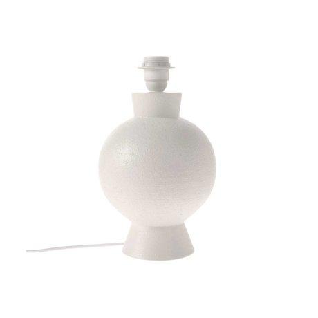 HK-living Lampenvoet wit keramiek M Ø18x29cm