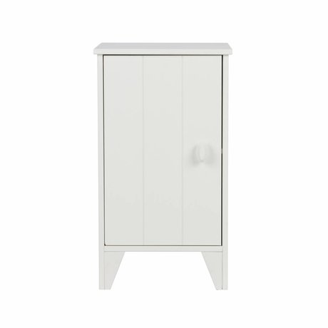 LEF collections Nightstand Nikki junior white pine 37x35x63,5cm