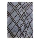 HK-living Carpet Berber blue gray wool 180x280cm