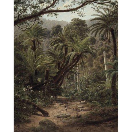 KEK Amsterdam Tapete Palm Trees grün Vliestapete 142,5x180cm