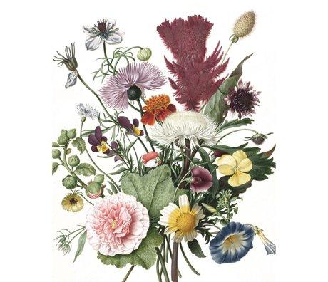 KEK Amsterdam Papier peint Fleurs sauvages multicolores papier peint non tissé 142,5x180cm