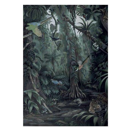 KEK Amsterdam Tapete Tropical Landscapes Vliestapete 194,8x280cm (4 Blatt)
