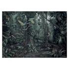 KEK Amsterdam Tropical Landscapes groen vliesbehang 389,6x280cm (8 sheets)