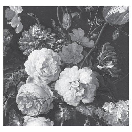 KEK Amsterdam Papier peint intissé Golden Age Flowers papier peint intissé 292.2x280cm (6 feuilles)