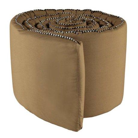 OYOY Bed bumper Haikan rubber brown 350x30x3cm