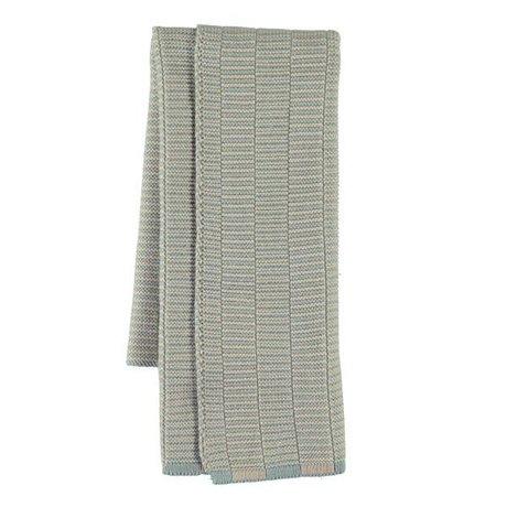OYOY Torchon Stringa coton bleu camel 38x58cm