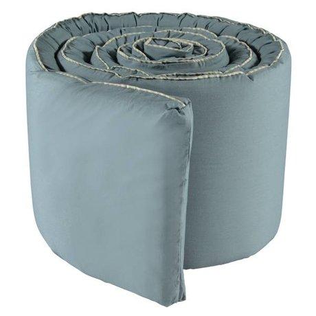 OYOY Bed bumper Haikan blue gray 350x30x3cm