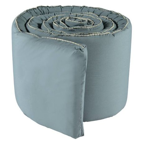 OYOY Bedbumper Haikan blauw grijs 350x30x3cm
