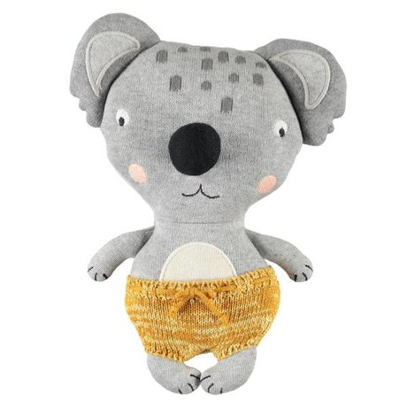 OYOY Câlin bébé koala anton coton multicolore 26x20cm