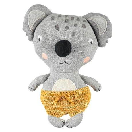 OYOY Knuffel baby koala anton multicolour katoen 26x20cm