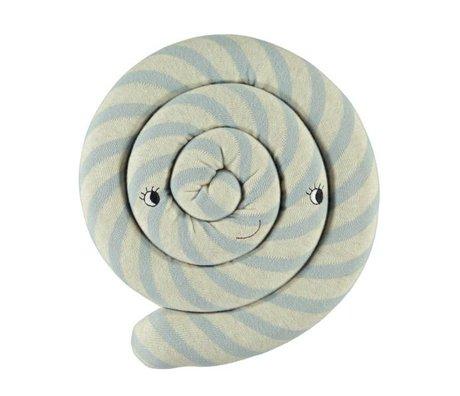 OYOY Coussin Lollipop Bleu 30cm