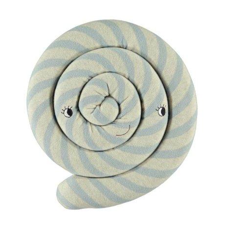 OYOY Kussen Lollipop blauw 30cm
