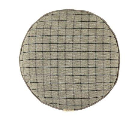 OYOY Coussin Mado en coton gris argile 40cm