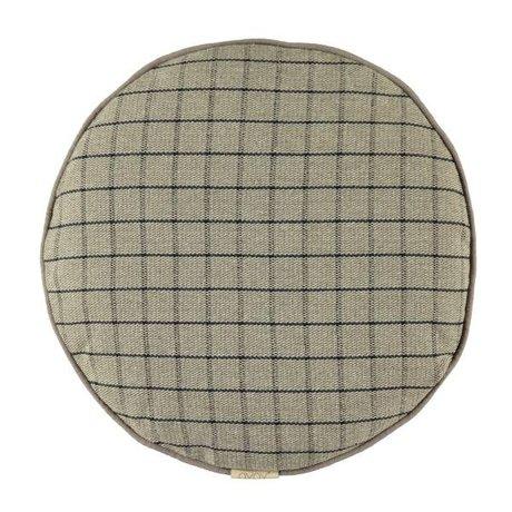 OYOY Cushion Mado clay gray cotton 40cm