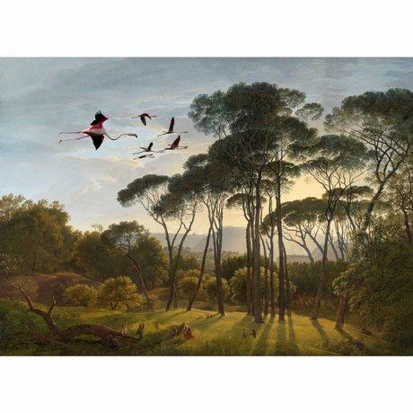 Arty Shock Peinture Hendrik Voogd se lève et brille m plexiglass multicolore 80x120cm