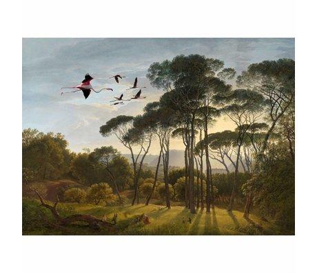 Arty Shock Painting Hendrik Voogd rise and shine L multicolor plexiglass 100x150cm