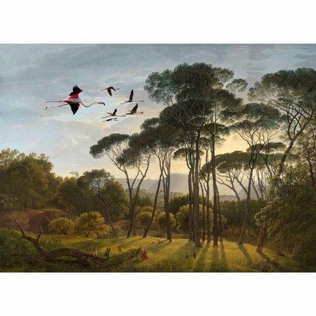 Arty Shock Gemälde Hendrik Voogd Aufstieg und Glanz L Multicolor Plexiglas 100x150cm