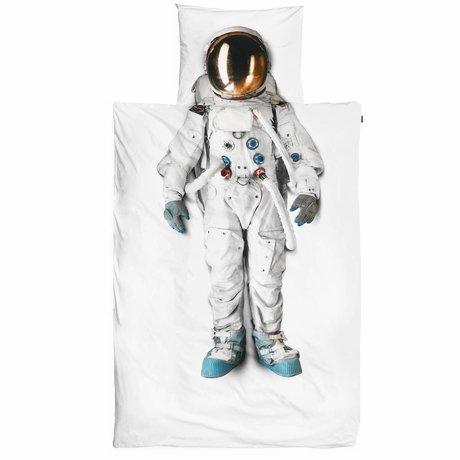 Snurk Beddengoed L'astronaute de coton Housse de couette 140x220cm