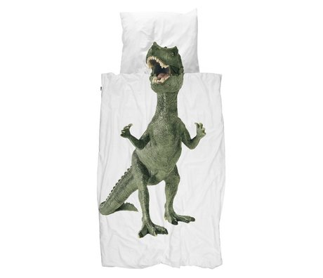 Snurk Beddengoed Duvet Dino multicolour cotton in 3 sizes
