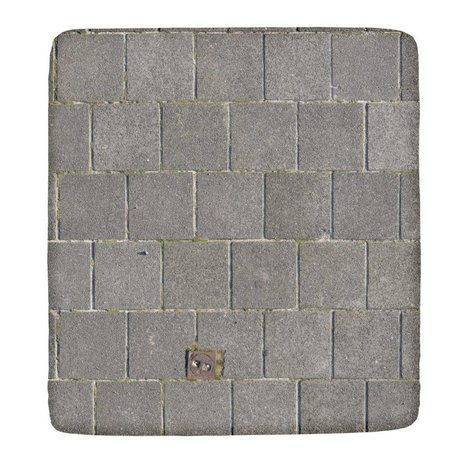 Snurk Beddengoed Fitted le sidewalk in different sizes, gray