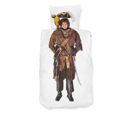 Snurk Beddengoed Pirate cotton duvet cover 140x220cm