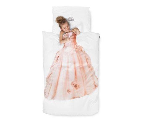 Snurk Beddengoed Dekbedovertrek Princess katoen 140x220cm