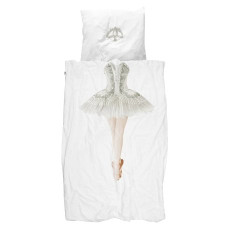 Snurk Beddengoed Ballerina cotton duvet cover 140x220cm