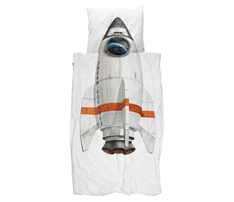 Snurk Beddengoed Rocket-Duvet 140x200 / 220 inkl pillowcase 60x70cm