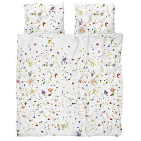 Snurk Beddengoed Couette Flower Fields multicolore coton 4 tailles