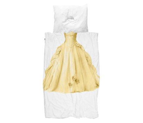 Snurk Beddengoed Bettbezug Prinzessin gelb 140x200 / 220cm