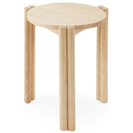 OYOY Chaise Pieni en bois brun naturel 35x35x43cm