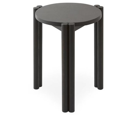 OYOY Chair Pieni black wood 35x35x43cm