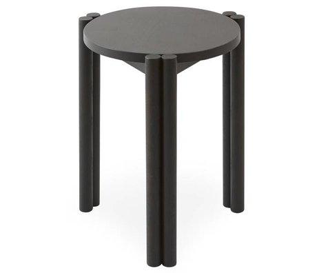 OYOY Stuhl Pieni schwarz Holz 35x35x43cm