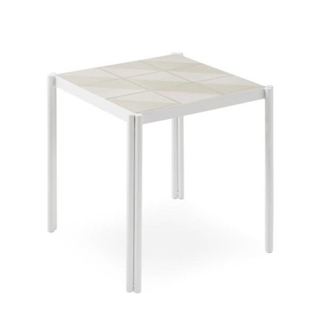 OYOY table Pieni blanc rose 35x38x38cm