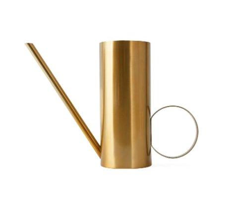 OYOY Watering can Mizu brass gold metal 10x34x24cm