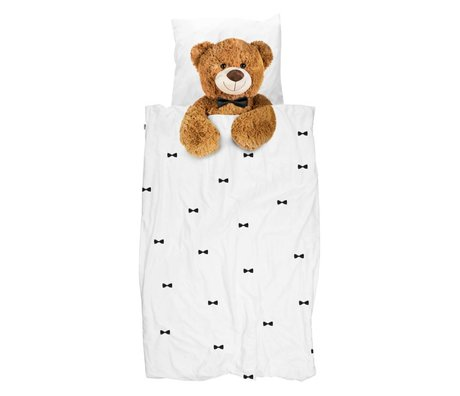 Snurk Beddengoed Dekbedovertrek Teddy Bear 140x200/220 cm incl kussensloop 60x70cm